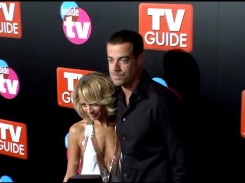 Nicole Richie and Carson Daly at the 2005 TV Guide and Inside TV Emmy Awards After Party at the Hollywood Roosevelt Hotel in Hollywood California on...