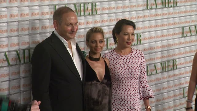Nicole Richie and John Demsey at La Mer Celebrates 50 Years of An Icon at Siren Studios on October 13 2015 in Hollywood California
