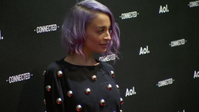 nicole richie at 2014 aol newfronts at the duggal greenhouse on april 29, 2014 in new york city. - nicole richie stock videos & royalty-free footage