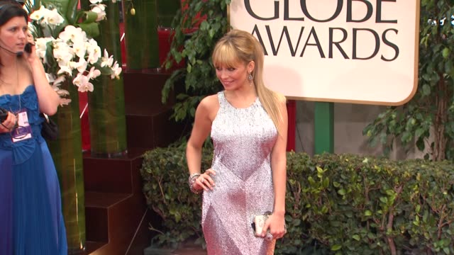 Nicole Richie at 69th Annual Golden Globe Awards Arrivals on January 15 2012 in Beverly Hills California