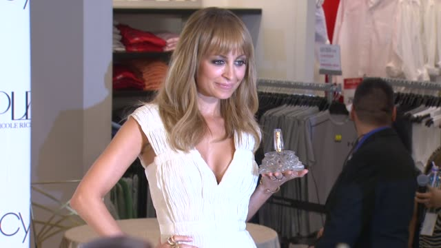 nicole richie at nicole richie first fragrance launch for nicole on 8/29/12 in los angeles, ca - nicole richie stock videos & royalty-free footage