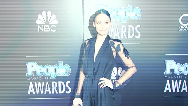Nicole Richie at PEOPLE Magazine Awards in Los Angeles CA