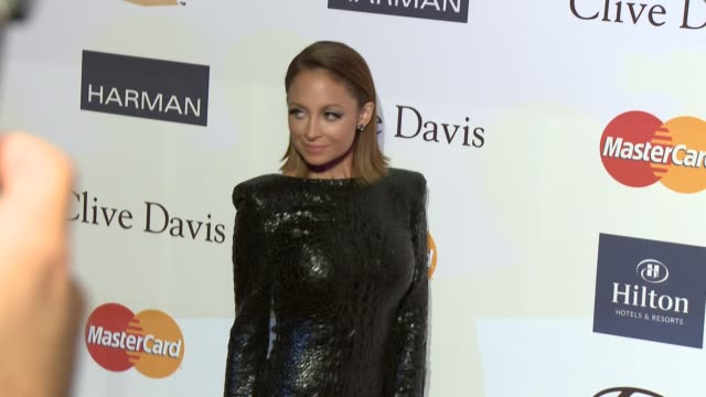 nicole richie at pre-grammy gala & salute to industry icons with clive davis honoring antonio l.a. reid 2/9/2013 in beverly hills, ca. - nicole richie stock videos & royalty-free footage