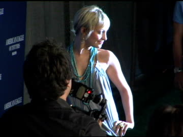 nicole richie at the back to school tailgate party arrivals by american eagle outfitters at hollywood lot in hollywood, california on august 24, 2004. - nicole richie stock videos & royalty-free footage