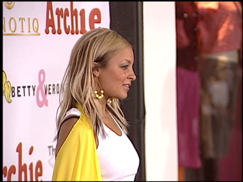 Nicole Richie at the Betty and Veronica Apparel Launch at Kitson Store in Beverly Hills California on May 24 2004
