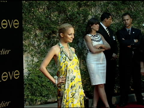 nicole richie at the cartier hosts the third annual loveday celebration at los angeles california. - nicole richie stock videos & royalty-free footage