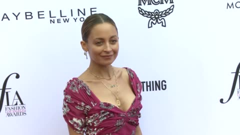 nicole richie at the daily front row hosts 4th annual fashion los angeles awards in los angeles, ca 4/8/18 - nicole richie stock videos & royalty-free footage