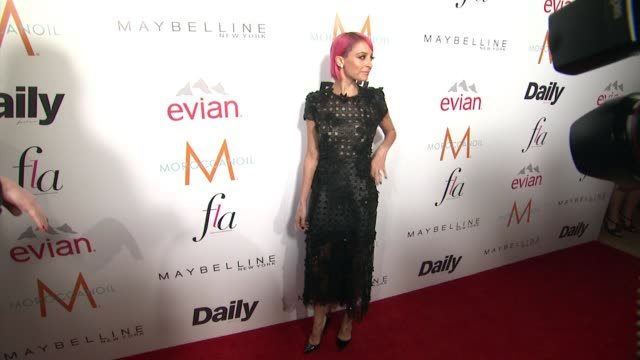 nicole richie at the daily front row presents first annual fashion los angeles awards in los angeles, ca 1/22/15 - platinum stock-videos und b-roll-filmmaterial
