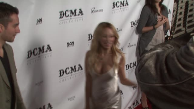 nicole richie at the dcma collective celebrates grand opening of flagship store on march 15, 2008. - nicole richie stock videos & royalty-free footage