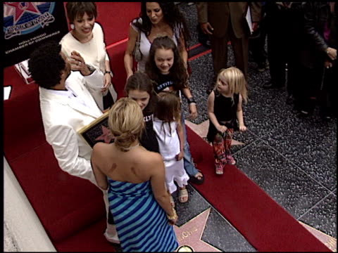 Nicole Richie at the Dediction of Lionel Richie's Walk of Fame Star at the Hollywood Walk of Fame in Hollywood California on June 20 2003