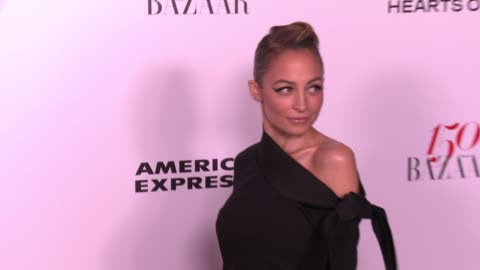 nicole richie at the harper's bazaar celebrates 150 most fashionable women at sunset tower on january 27, 2017 in west hollywood, california. - nicole richie stock videos & royalty-free footage
