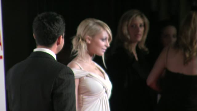 nicole richie at the lacma opening at the broad contemporary art museum in los angeles, california on february 9, 2008. - nicole richie stock videos & royalty-free footage