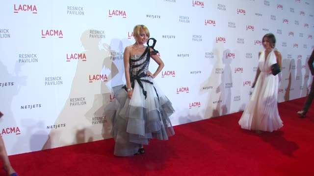 nicole richie at the lacma presents 'the unmasking' at los angeles ca. - nicole richie stock videos & royalty-free footage