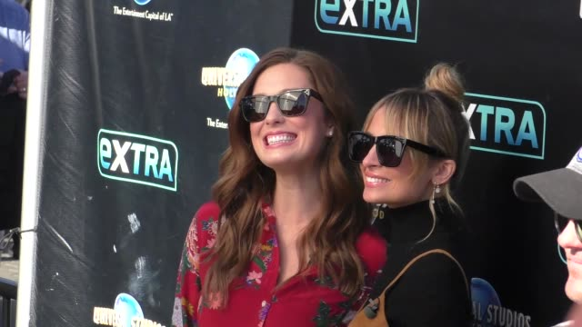 nicole richie filming extra at universal citywalk in hollywood on october 05, 2017 at celebrity sightings in los angeles. - nicole richie stock videos & royalty-free footage