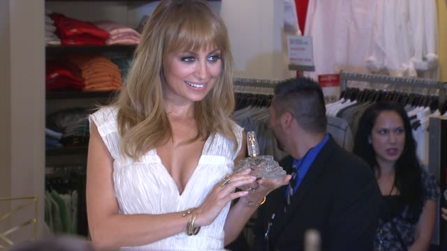 nicole richie first fragrance launch for nicole, los angeles, ca, united states, 8/29/12 - nicole richie stock videos & royalty-free footage