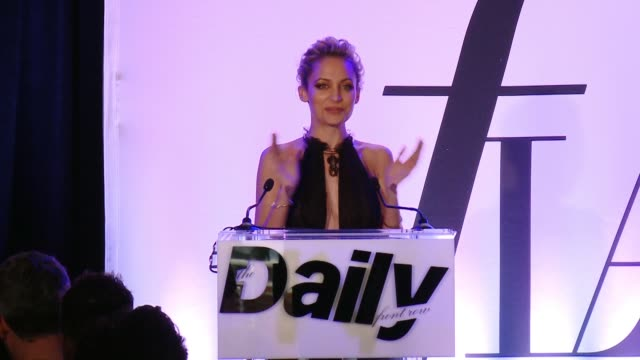 SPEECH Nicole Richie introducing the Fashion LA Awards at the The Daily Front Row Hosts 2nd Annual Fashion Los Angeles Awards at Sunset Tower on...