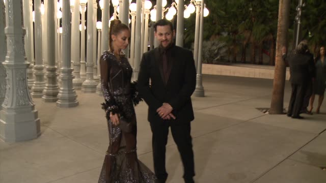 Nicole Richie Joel Madden at LACMA Hosts 2013 Art Film Gala Honoring David Hockney And Martin Scorsese Presented By Gucci in Los Angeles CA
