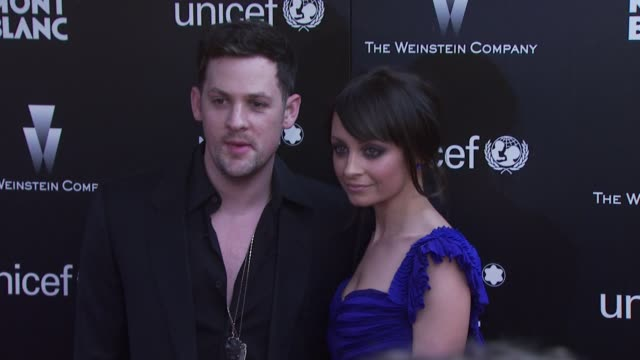 Nicole Richie Joel Madden at the Montblanc Charity Cocktail hosted by The Weinstein Company to benefit UNICEF at Soho House at West Hollywood CA