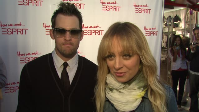 Nicole Richie Joel Madden on teaming up with Espirt what she appreciates about Esprit's collection how she discovered it as a kid what they...