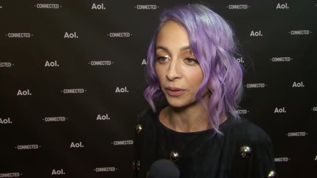 INTERVIEW Nicole Richie on feeling strongly about doing AOL original programming on how it receives immediate reaction from one's audience and it's...
