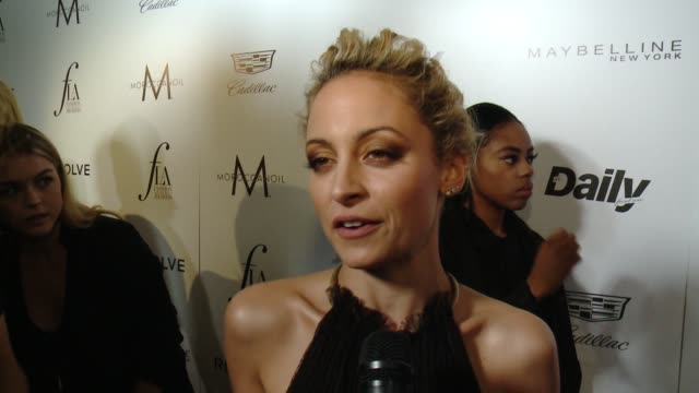 INTERVIEW Nicole Richie on how she feels about hosting The Daily Front Row's Fashion LA Awards on prepping for the evening on being an LA native and...