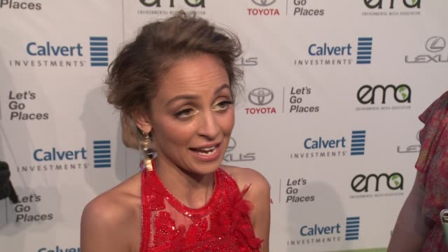 INTERVIEW Nicole Richie on why she wanted to host this years EMA awards how she supports the environment on a daily basis and what she says to those...