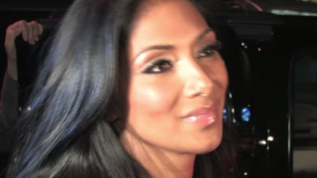 nicole scherzinger at stk in west hollywood at the celebrity sightings in los angeles at los angeles ca - nicole scherzinger stock videos and b-roll footage