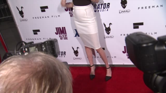 Nicole Trunfio at the Jimi All Is By My Side Los Angeles Premiere at ArcLight Cinemas on September 22 2014 in Hollywood California