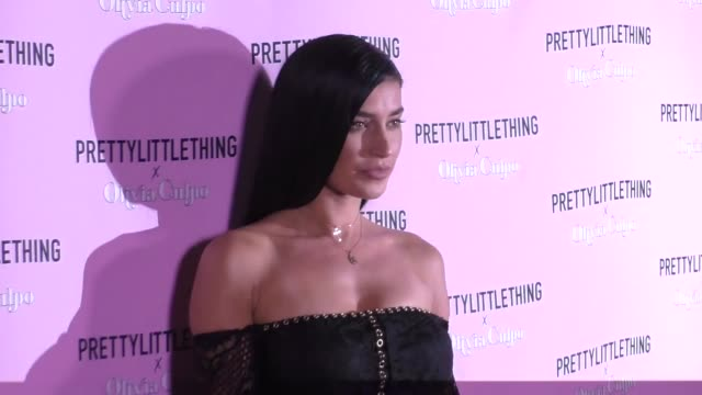 Nicole Williams at the PrettyLittleThing X Olivia Culpo Launch Arrivals on August 17 2017 in Los Angeles California