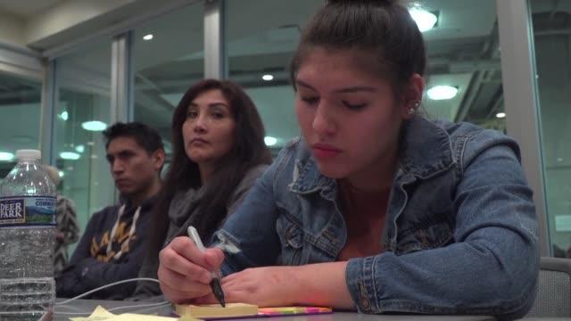 nicolle uria tenia 15 anos cuando su familia le revelo que era inmigrante indocumentada - hija stock videos & royalty-free footage