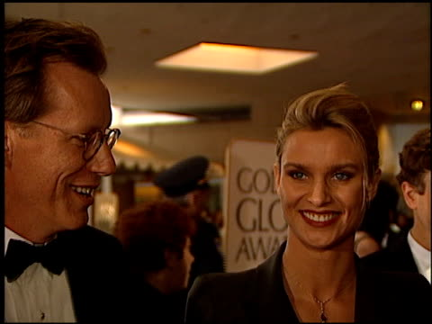 Nicollette Sheridan at the 1996 Golden Globe Awards at the Beverly Hilton in Beverly Hills California on January 21 1996