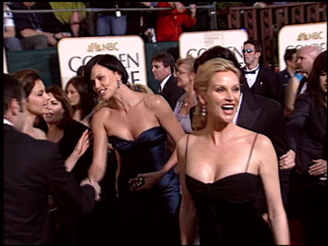Nicollette Sheridan at the 2005 Golden Globe Awards at the Beverly Hilton in Beverly Hills California on January 16 2005