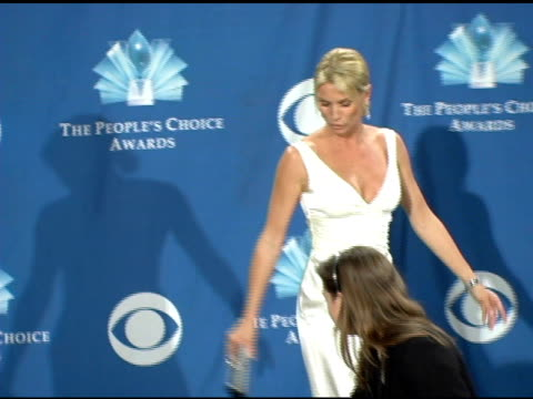 Nicollette Sheridan at the 2006 People's Choice Awards press room at the Shrine Auditorium in Los Angeles California on January 10 2006