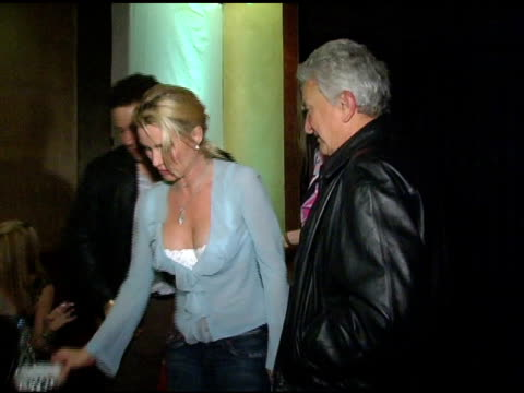 Nicollette Sheridan at the Birthday Bash for Nicollette Sheridan and Chef Mark Kearney at Bliss in Los Angeles California on November 27 2004