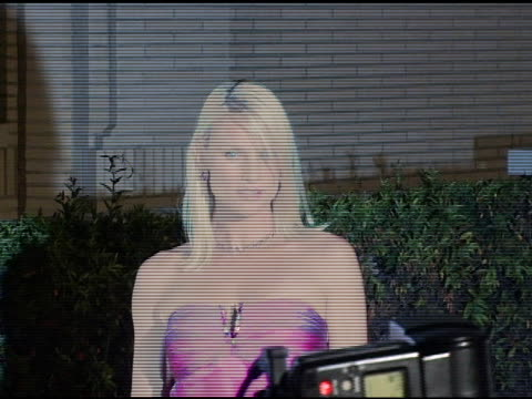 Nicollette Sheridan at the 'Desperate Housewives' Series Premiere Party Arrivals on October 3 2004