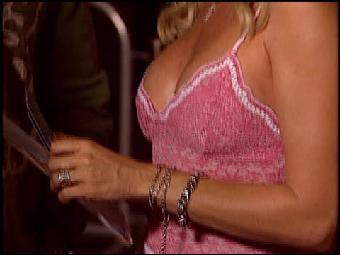 Nicollette Sheridan at the 'I Heart Huckabees' Premiere at the Grove in Los Angeles California on September 22 2004