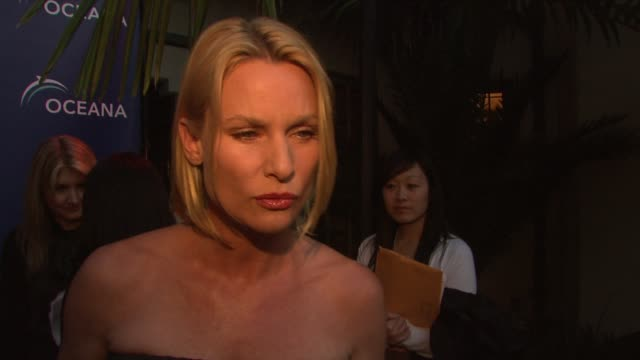Nicollette Sheridan on being a part of the night why protecting the oceans is so important why she is supporting Oceana how people can help save the...