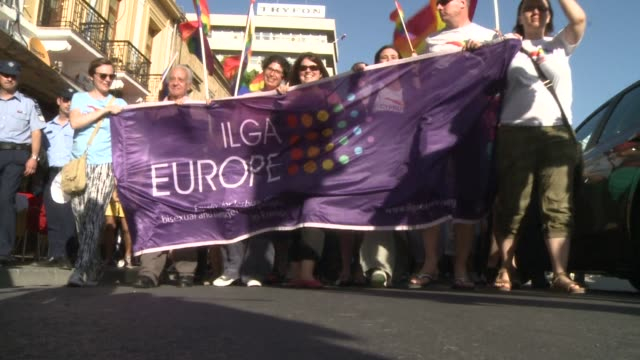 Nicosia held its first Greek Cypriot gay pride parade Saturday 16 years after homosexuality was decriminalised on their Mediterranean island where...