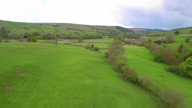Nidderdale Aerial Tracking Shot