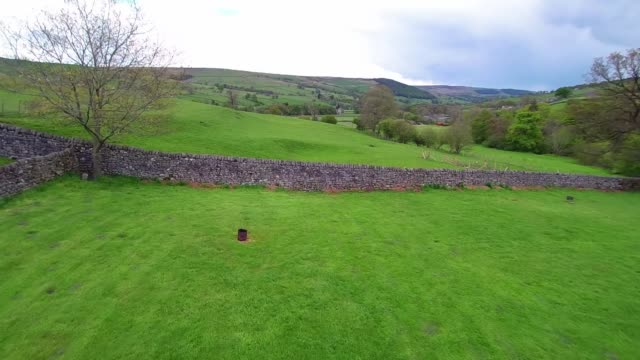 Nidderdale Dry Stone Wall Flyover