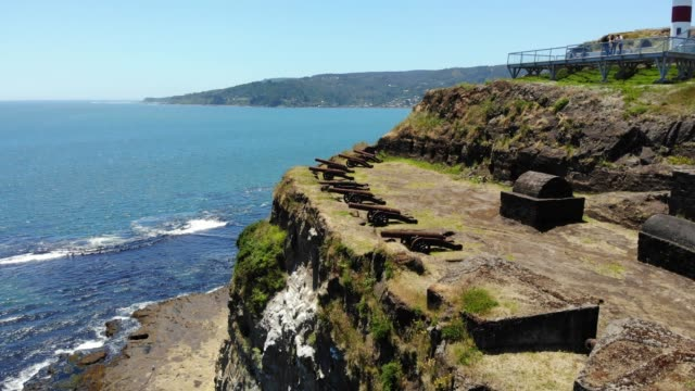 niebla fort canyons - panoramic stock videos & royalty-free footage