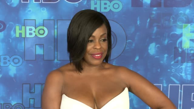 niecy nash and jay tucker at the hbo's post emmy awards reception - arrivals at the plaza at the pacific design center on september 18, 2016 in los... - tucker stock videos & royalty-free footage