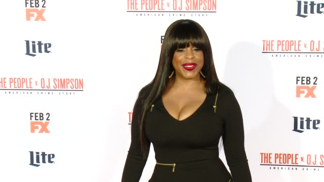 Niecy Nash at FX's The People v OJ Simpson American Crime Story Premiere at Westwood Village Theatre on January 27 2016 in Westwood California