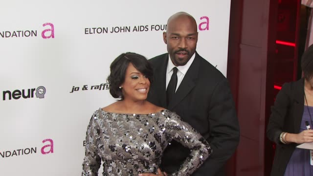 niecy nash at the 18th annual elton john aids foundation oscar party at west hollywood ca. - oscar party stock videos & royalty-free footage