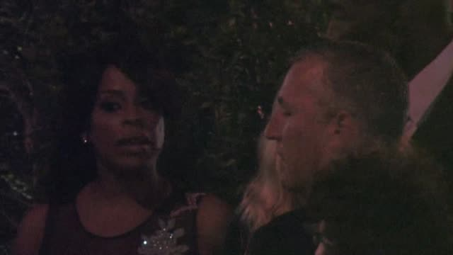 stockvideo's en b-roll-footage met niecy nash at the 2015 entertainment weekly pre-emmy party at fig and olive in west hollywood at celebrity sightings in los angeles on september 18,... - pre emmy party