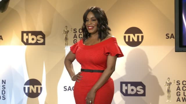 Niecy Nash at the 24th Annual Screen Actors Guild Awards Nominations at Pacific Design Center on December 13 2017 in West Hollywood California