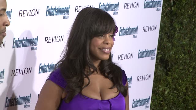 niecy nash at the entertainment weekly 6th annual pre-emmy party at los angeles ca. - エンターテインメント・ウィークリー点の映像素材/bロール