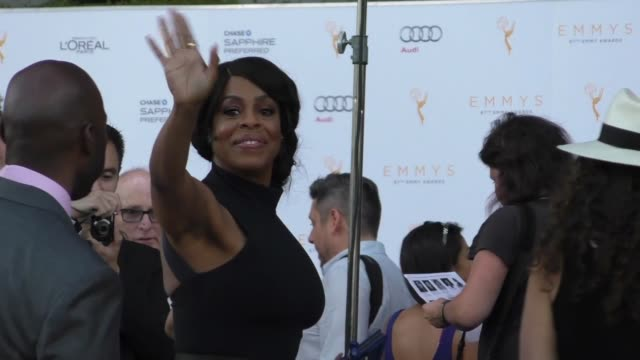 niecy nash at the television academy celebrates the 67th emmy award nominees for outstanding performances at montage beverly hills at celebrity... - montage beverly hills stock videos & royalty-free footage