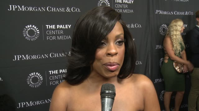 INTERVIEW Niecy Nash on being at the event tonight and diversity in TV at The Paley Center For Media's Tribute To AfricanAmerican Achievements In...
