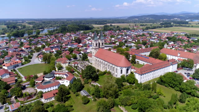 Niederaltaich and its Benedictine Abbey in Lower Bavaria
